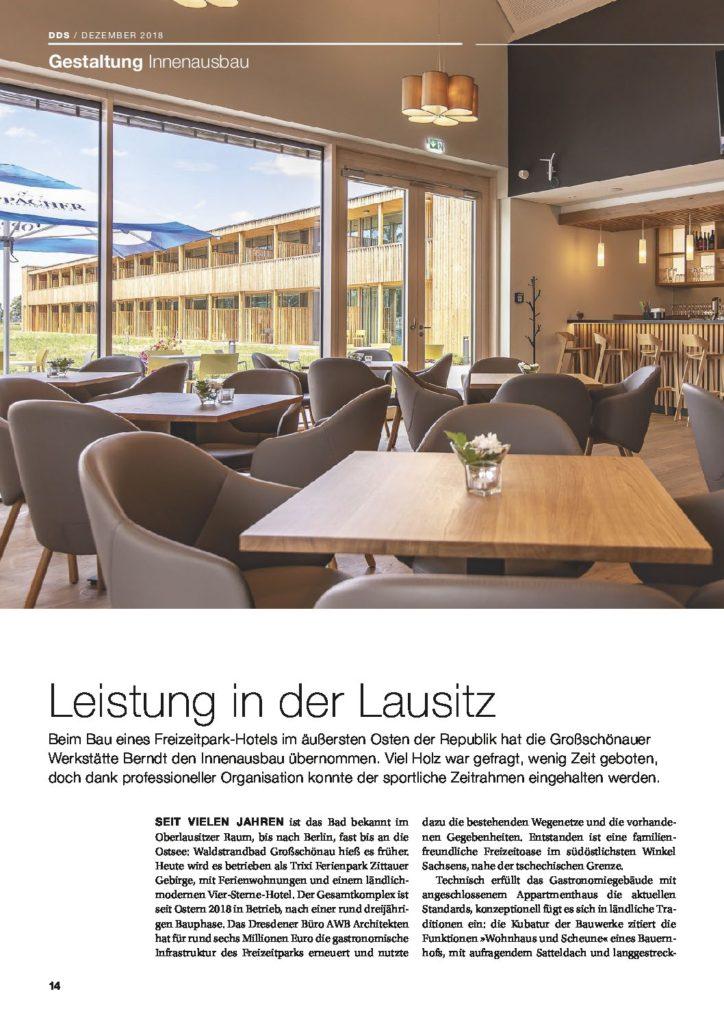 DDS MAGAZIN | Hoteltraum in der Oberlausitz